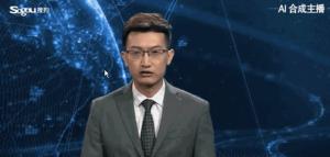 artificial intelligence news anchor